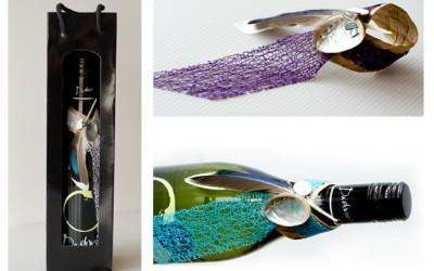 Wine Topper/Black Windowbag