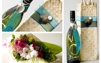 Combo- Flowers & Wine