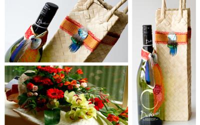 Combo- Wine & Flowers